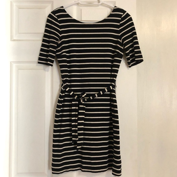 Banana Republic Stripes Dress with Tie